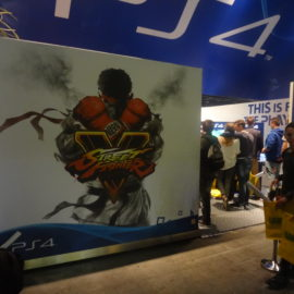 Street Fighter V @ Firstlook 2015