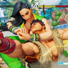 New SFV Character Laura Leaked