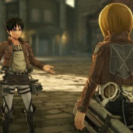 Captain Levi And Hange Zoë Join The Attack On Titan Game