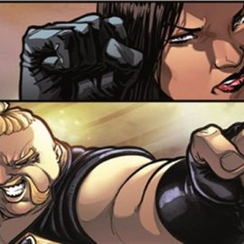IDW's Street Fighter X G.I. Joe Preview