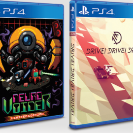 Limited Run Games   NeuroVoider And Drive! Drive! Drive!